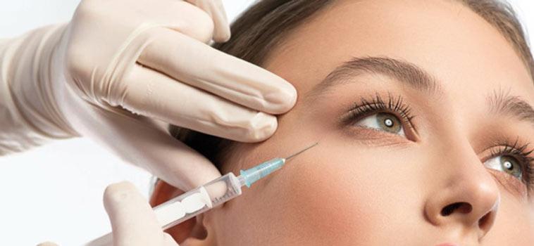 بوتاکس برای لیفت چشم و ابرو بدون جراحی - لیفت ابرو با نخ